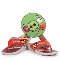 Chinelo Angry Birds 21213 Tam 23 Ao 34 - Cinza