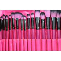 Pincel De Maquiagem Profissional Kit 24pcs | Donachique