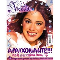 Revista Pôster Violetta Nova! = Gigante 52cm X 81cm! Violeta