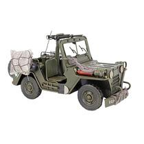 Miniatura Jeep Militar Grande