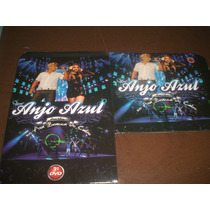 Kit Cd +dvd -forró Anjo Azul(ao Vivo No Asa Branca Do Cabo)-