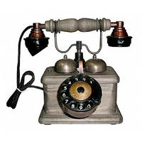 Telefone Artesanal Com Disco Modelo Antigo