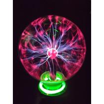 Globo Bola Plasma Ball Sphere Bola Tesla 17cm A Maior - Txmc