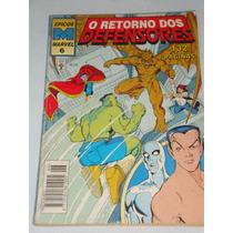O Retorno Dos Defensores Nº 6* Épicos Marvel Novo
