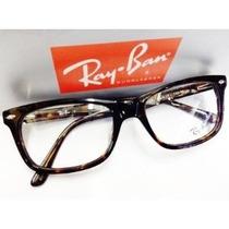 Armação Óculos De Grau Rb5228 Tartaruga