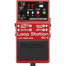 Pedal De Loop Boss Rc-3 Loop Station - Frete Grátis!!!