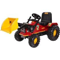 Trator Farmer Biemme A Pedal + Pá Escavadeira C/ Inmetro