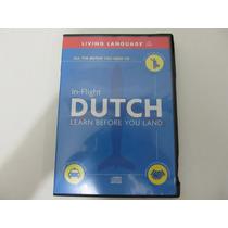 Livro Em Inglês - In-flight Dutch: Learn Before You Land Cd