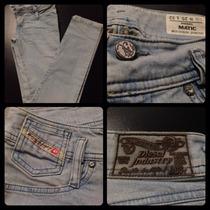 Calça Jeans *marca Mais Desejada Entre Os Jeans* Tamanho 34