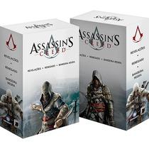 Box Livros Assassins Creed (3 Livros) - Novos.