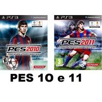 Pes 2010 E Pes 2011 2 Jogos Ps3 Semi Novos