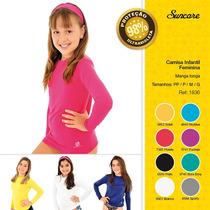Camisa C/ Proteção Solar (fpu 50 + ) Infantil Manga Longa
