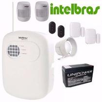 Kit Central Alarme Intelbras Anm 3004 St Completo Sem Fio