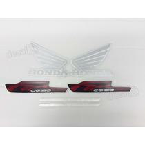 Kit Adesivos Honda Cg Fan 150 Esdi 2013 Vermelha - Decalx