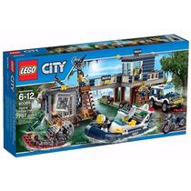 Lego Cidade 60069 Delegacia Da Polícia Do Pântano 12x S/j
