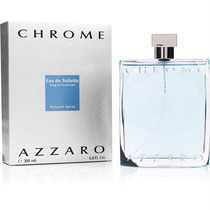 Perfume Azzaro Chrome 200ml Edt Masculino Original Lacrado