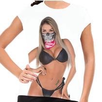 Camiseta Gil Jung Fatal Girl Baby Look