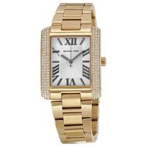 Relógio Michael Kors Mk3254 Dourado Com Cristal Caixa/manual