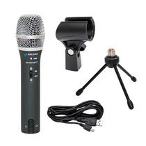 Microfone Arcano Usb E Xlr Saída De Fone Volume(ar-a03-sett)