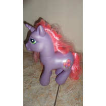 Cavalo My Little Pony 30 Cm Roxo