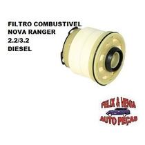 Filtro Combustível Ford Ranger Nova 2.2 / 3.2 Diesel