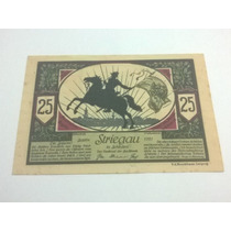 Cédula Alemanha Notegeld 25 Pfennig 1921 Lt0041