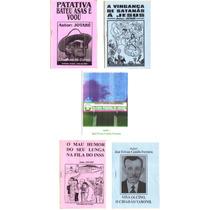 Lote 5 Folhetos / Livros De Cordel Literatura - Frete Grátis