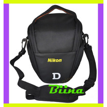 Bolsa Case Bag Nikon D40 D3200 D5000 D5300 D7100 D300 Biina