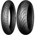 Combo Pneu Michelin Pilot Road 4 120/70-17 + 190/50-17