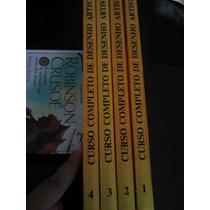Livro Curso Completo De Desenho Artístico Jayme Cortez 4 Vol