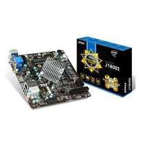Kit Intel J1800 2.41ghz + Placa Mãe Msi, Ddr3, Mini-itx