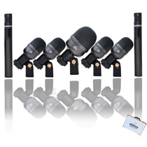 Kit De Microfones Bateria Arcano Arc-a7 Maleta (am-7a)