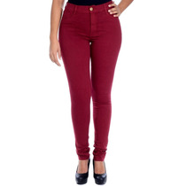 Calça Jeans Sawary Hot Pant Cintura Alta Cós Alto