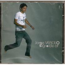 Cd Jorge Vercilo - Signo De Ar - Novo***