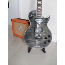 Gibson Les Paul Custom Black (cn) Tiger Flamed Maple