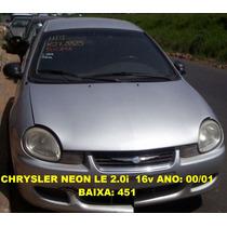 Caixa De Cambio Automatico Chrysler Neon Le 00/0 (na Troca)