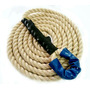 Corda Escalada Vertical Crossfit Sisal 4 Metros 32 Mm