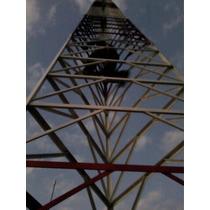 Torre Pronta Entrega Internet Fm Via Radio 9 A 36 Mt Por Kg
