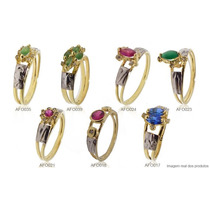 Anéis De Formatura 7 Modelos Em Ouro 18k