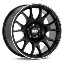 Rodas Bbs Ch 5x112 Aro 18 Preto Black Polished Stainless Lip