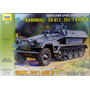 Blindado German Personnel Carrier Sd.kfz.251/1 Zvezda 1/35