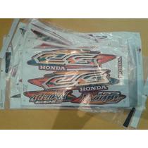 Jogo Adesivos Honda Cg 125 95 96 97 98 99 00 Todas As Cores