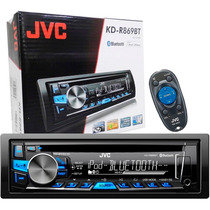 Cd Player Toca Mp3 Carro Jvc Kd-r869bt Bluetooth Aux Usb