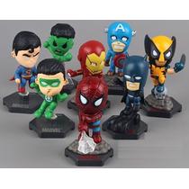 Bonecos Marvel Dc Vingadores Liga Da Justiça Wolverine Hulk