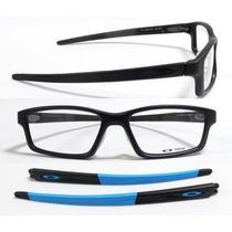 Armação Óculos De Grau Oakley Crosslink Pitch Troca Hastes