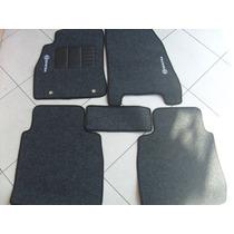 Tapete Nissan Sentra 2014> Carpete Bordado Com 5 Peças