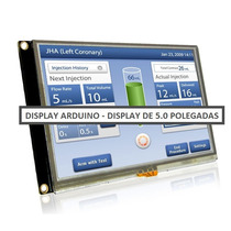 Display Lcd Touch Screen Colorida 5.0 Pol. Para Arduino