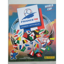 Album Copa Do Mundo France 1998 Panini Impreso