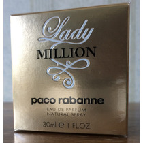 Perfume Lady Million Edp 30ml - Paco Rabanne Original