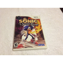 Sonic And The Secret Rings (nintendo Wii, 2007) Completo